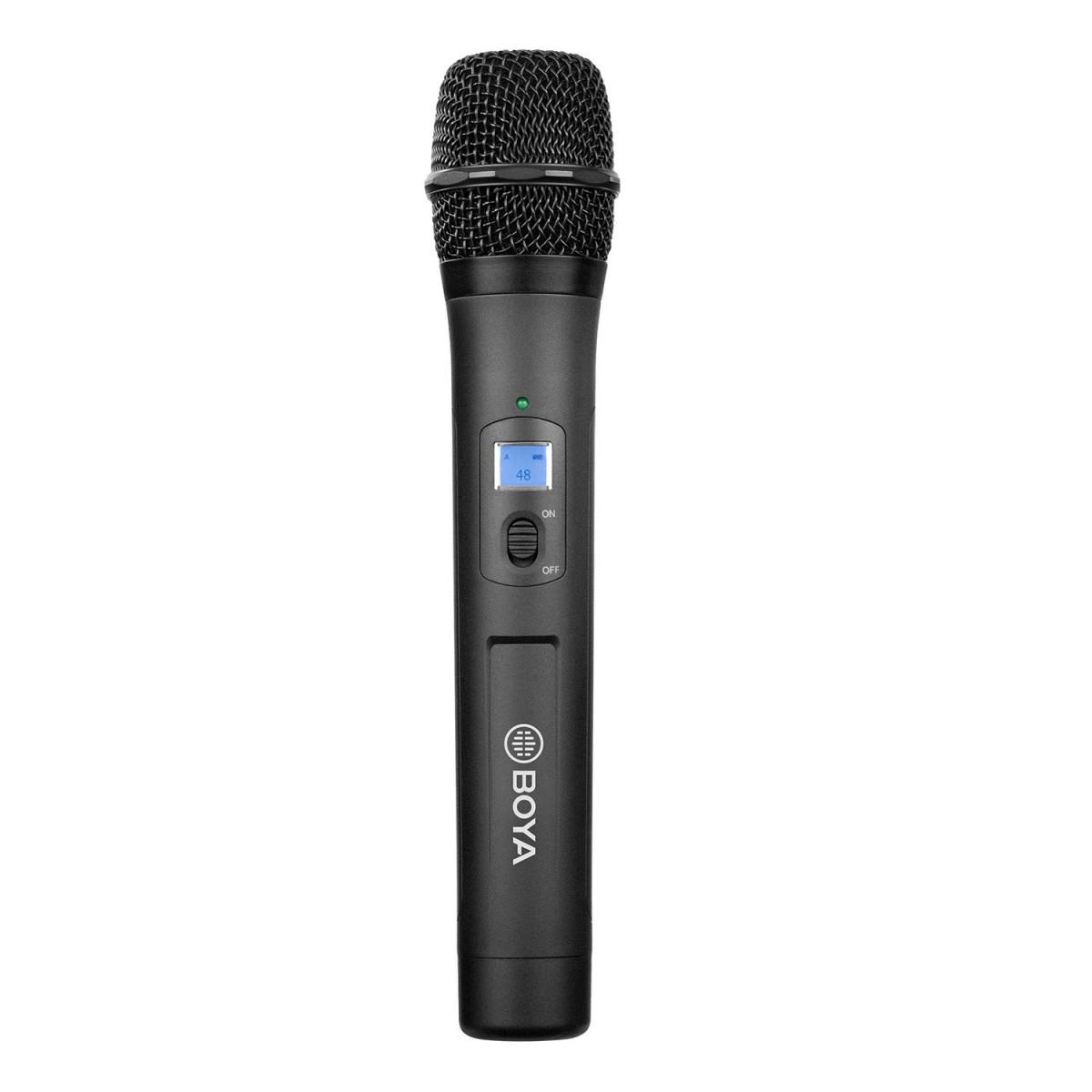 boya-by-whm8-48-channel-uhf-wireless-dynamic-handheld-microphone-transmitter